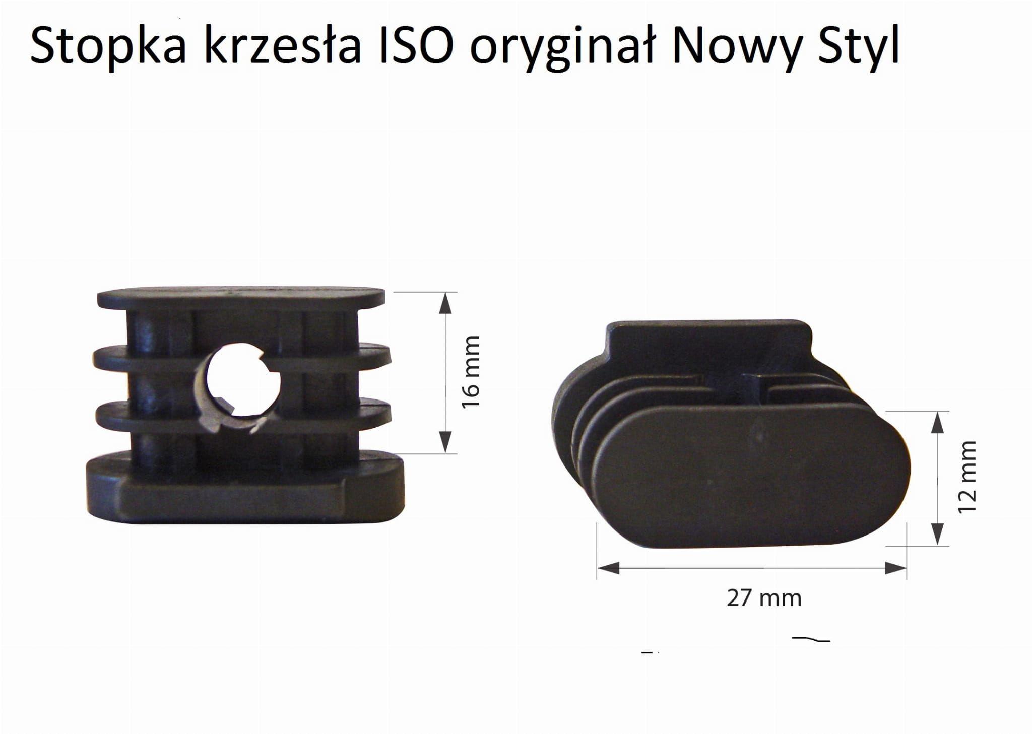 Stopki do krzesła ISO z mostkiem Nowy Styl