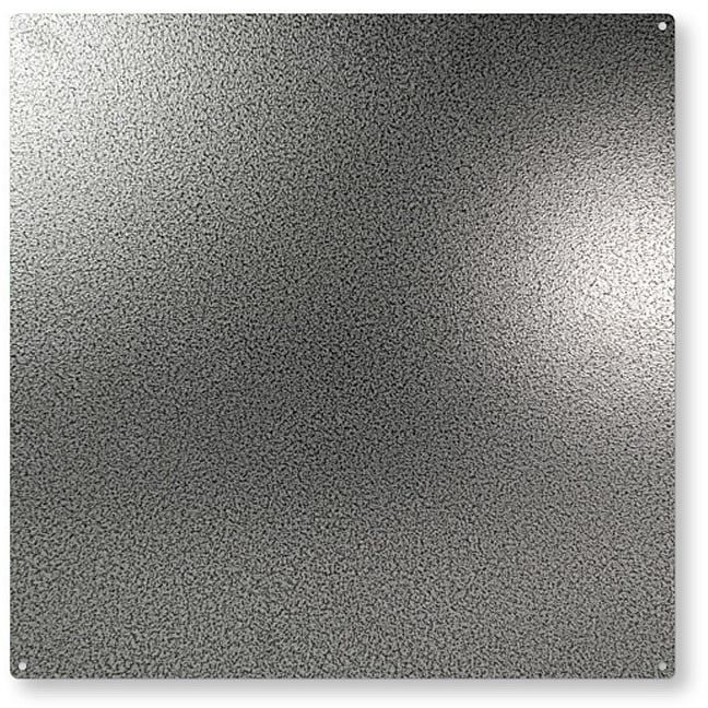 Trendform kwadratowa tablica magnetyczna c/w 10 magnesów - pistolet metalowy (400 x 400 mm)