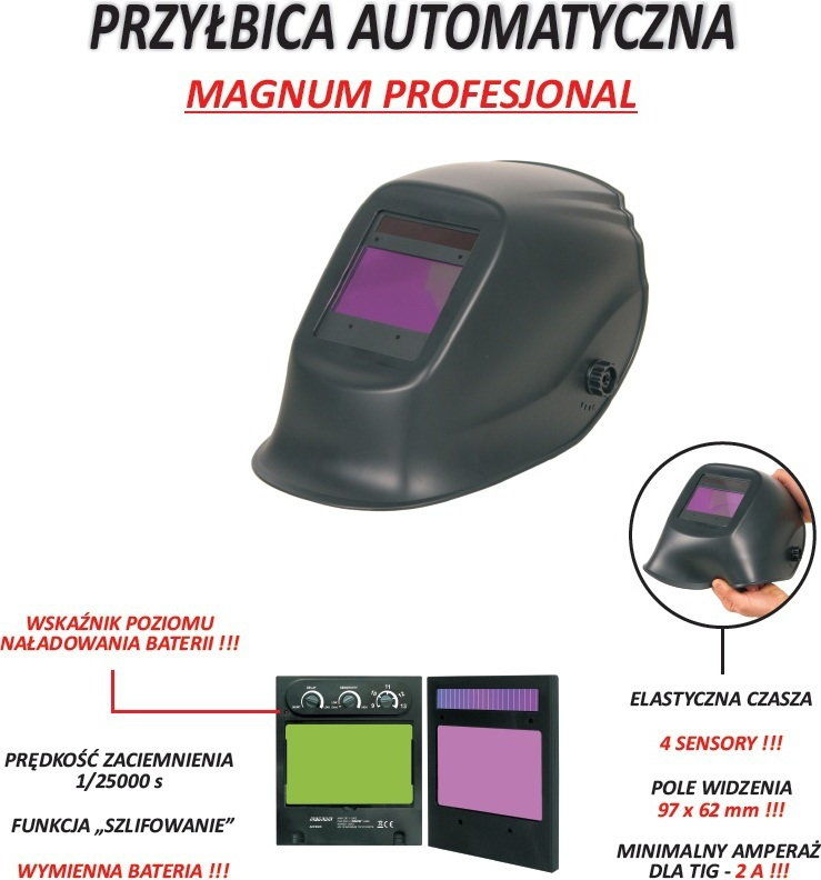 SPAWARKA INWERTER MAGNUM PROFIT MIG-200 MMA - IGBT