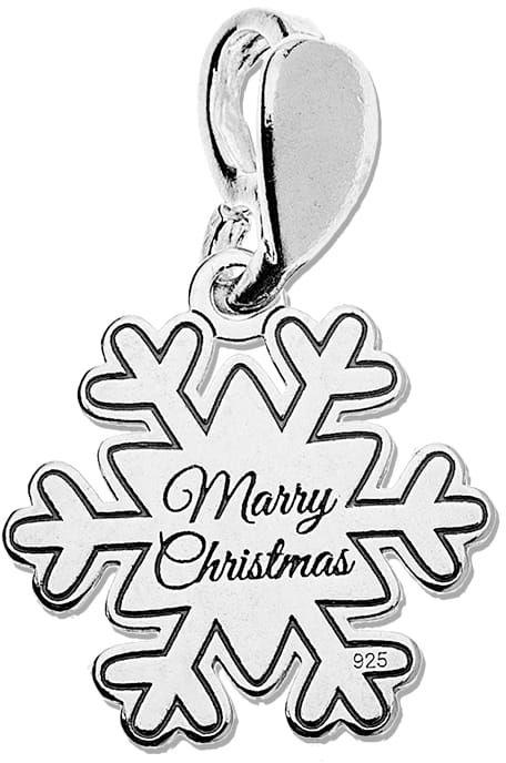 Zawieszka śnieżynka Marry Christmas