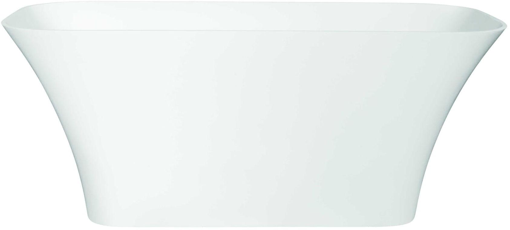 Besco wanna wolnostojąca Assos Glam Złota 160x70 cm biało-złota+ syfon klik-klak