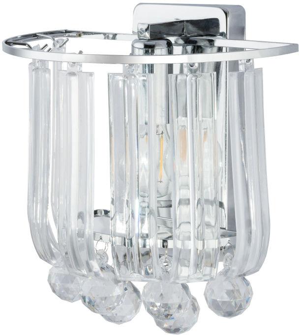 Globo MINNESOTA 15303W kinkiet lampa ścienna chrom 1xE14 40W 21cm