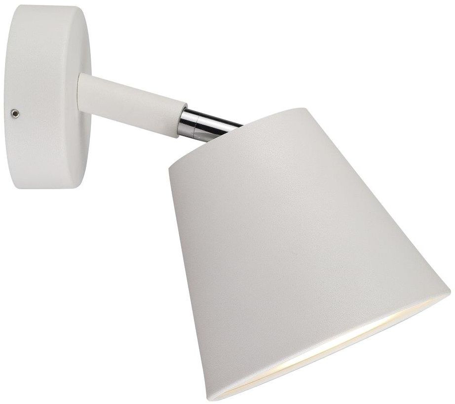 Kinkiet łazienkowy IP S6 78531001 Nordlux biała oprawa ścienna w nowoczesnym stylu