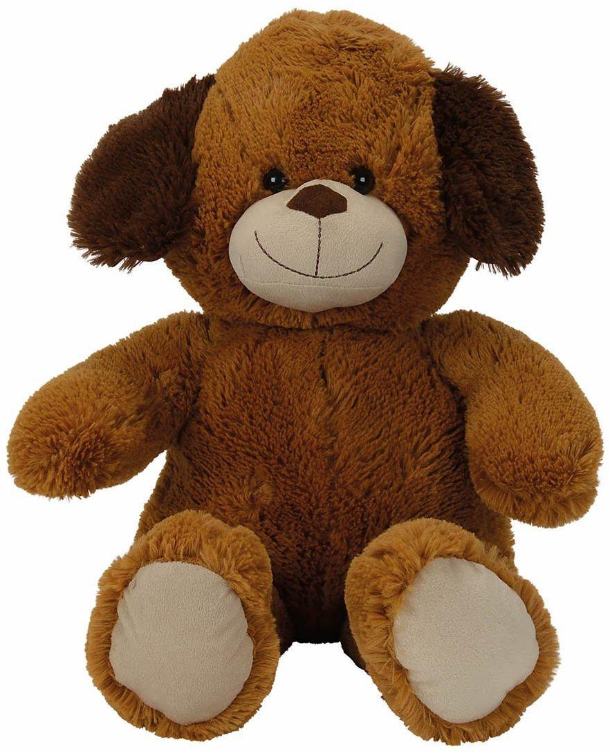 Simba 6305832015 - Nicotoy pluszowy pies 70 cm brązowy
