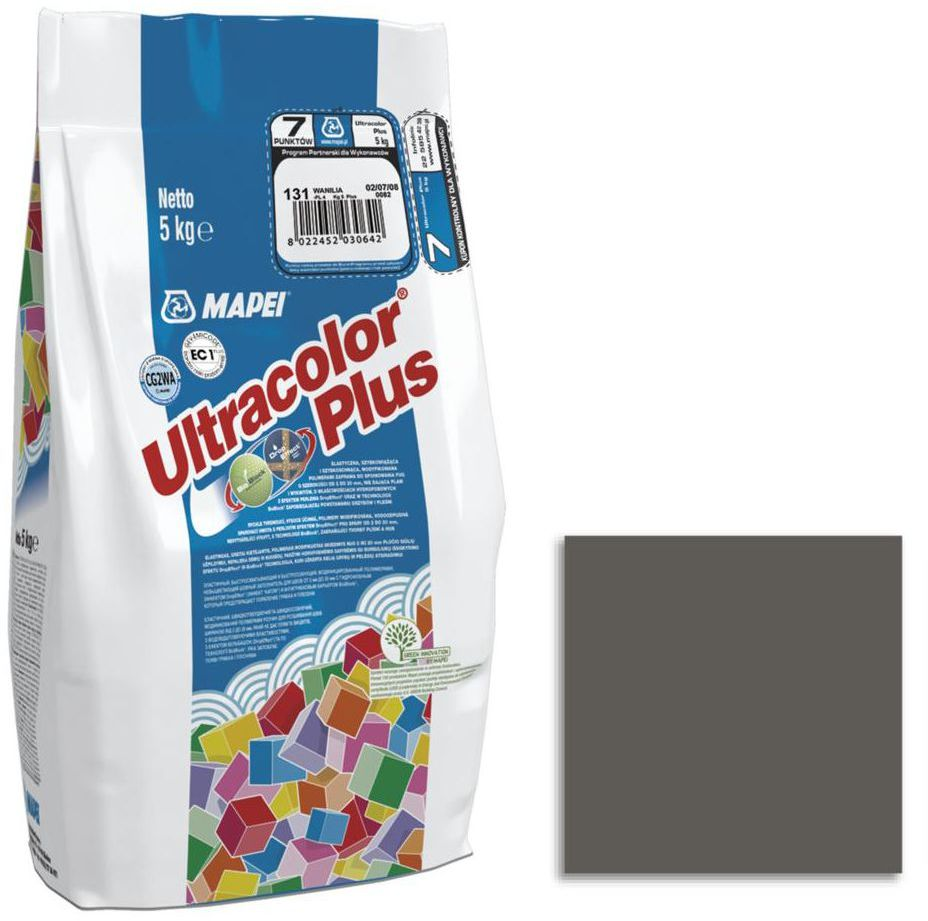 Fuga ULTRACOLOR 114 antracyt 5 kg MAPEI