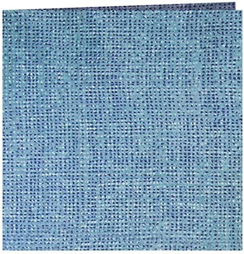 Garcia de Pou Aurora jak lniane serwetki 70 GSM w pudełku, 40 x 40 cm, papier, turkusowy, 30 x 30 x 30 cm