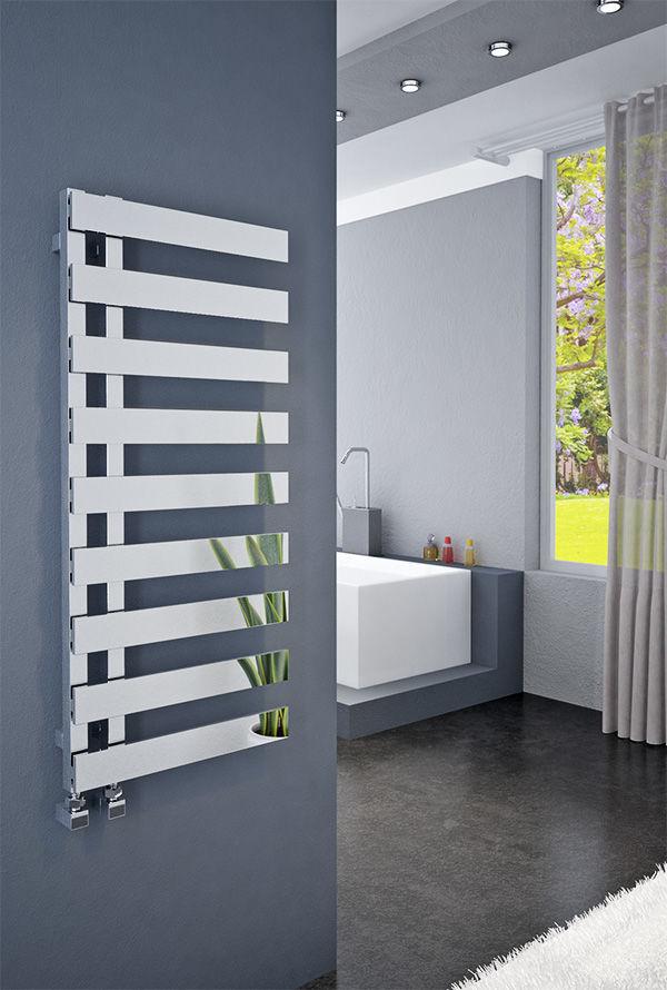 Grzejnik łazienkowy dekoracyjny EMRENO 500/800 mm - biały