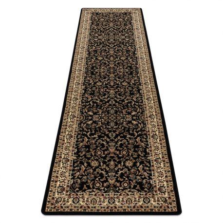 Dywan, Chodnik ROYAL ADR wzór 1745 czarny do przedpokoju, na korytarz 60x200 cm