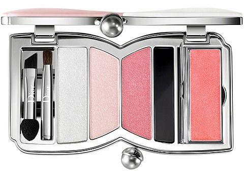 Christian Dior Cherie Bow Palette 002 Rose Perle paleta do makijażu oczu i ust - 8,4g Do każdego zamówienia upominek gratis.