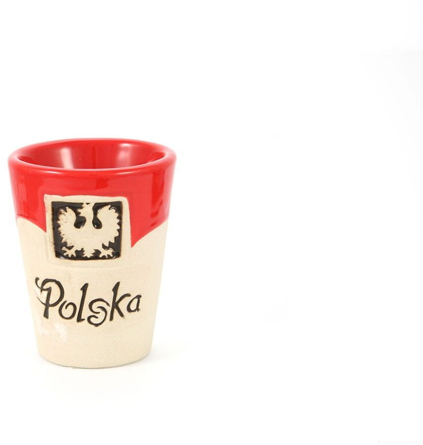 Kieliszek gliniany Polska