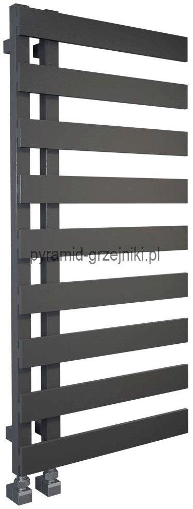 Grzejnik łazienkowy dekoracyjny EMRENO 500/800 mm - antracyt