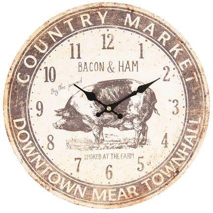 Zegar Ścienny Country Market