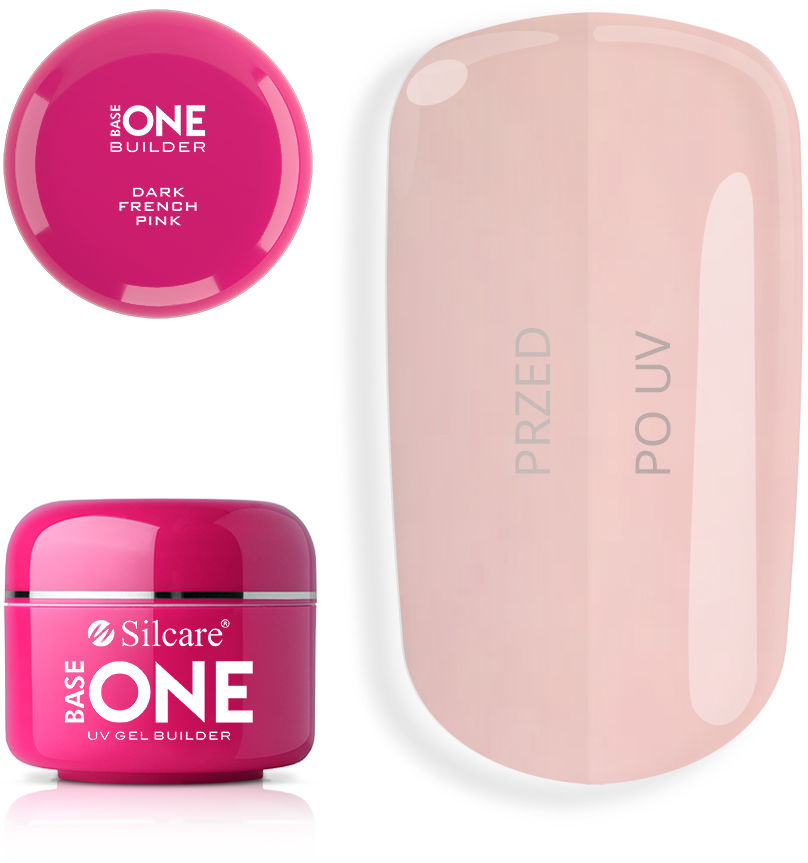 Base One Żel UV French Pink Dark 50 g