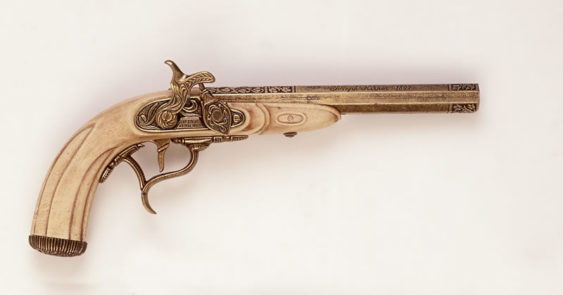 Replika pistoletu kapiszonowego k1103 M