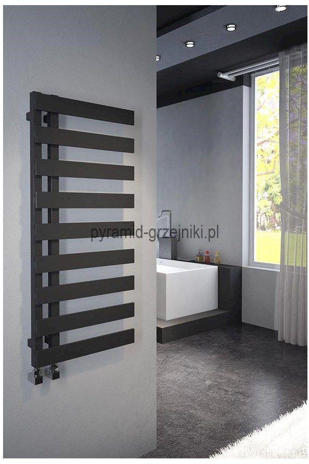 Grzejnik łazienkowy dekoracyjny EMRENO 500/1232 mm - antracyt