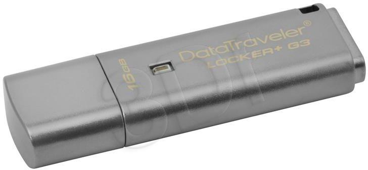 Pendrive Kingston DTLPG3/16GB (16GB; USB 3.0; kolor szary)