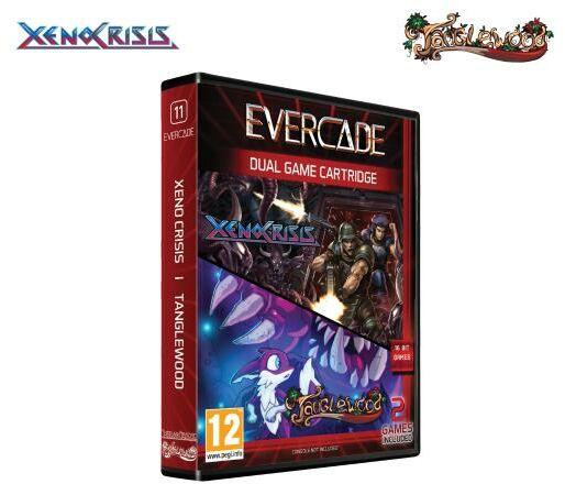 Evercade Xeno Crisis / Tanglewood