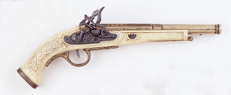 Replika pistoletu skałkowego k1106-M