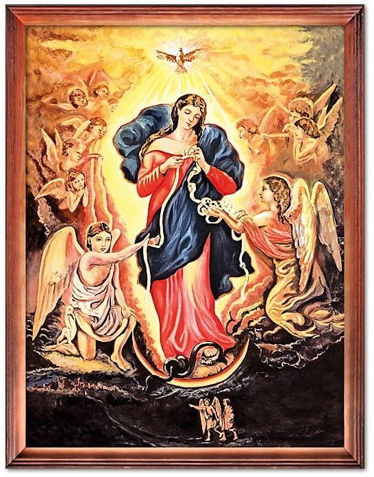 Obraz Matka Boża rozwiązująca węzły