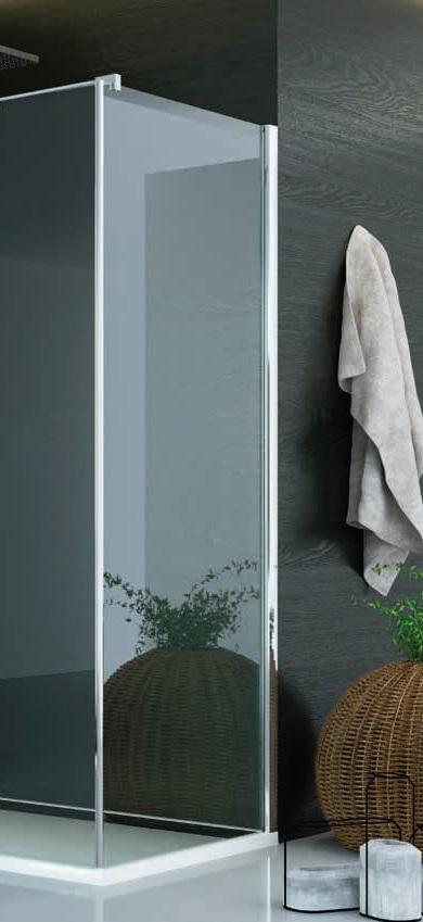 SanSwiss Pur PUDT3P Ścianka boczna wymiary specjalne 100-160/do 200cm przejrzyste PUDT3PSM41007