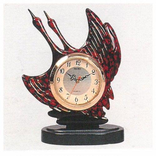 Zegar kominkowy Lecące Żurawie
