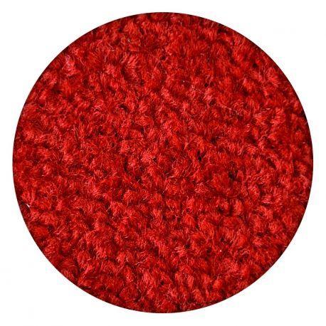 DYWAN koło ETON czerwony koło 100 cm