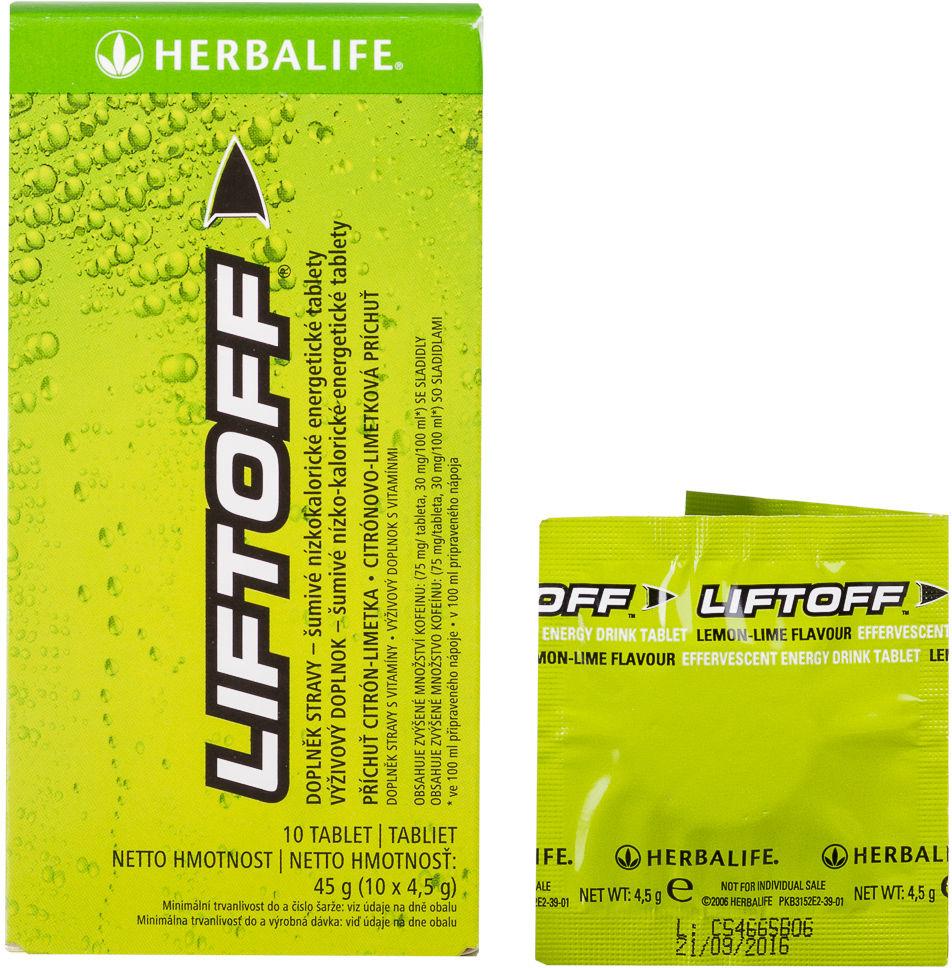 Liftoff 10 tabletek x 4,5-g cytryna / limetka