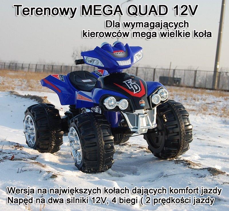 Najnowszy olbrzymi Quad na akumulator 2 silniki/ ZP-5128A