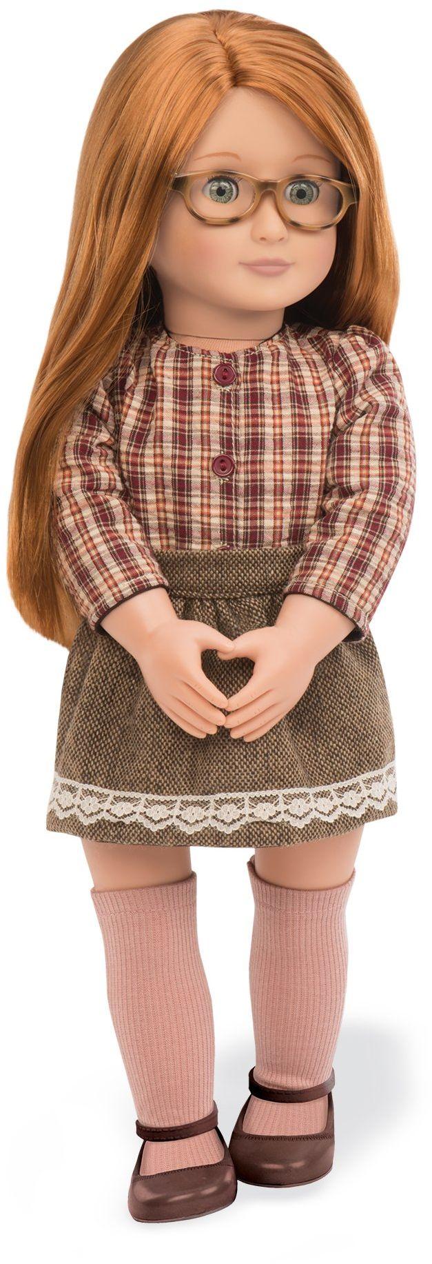 Our Generation 70.31078 kwietnia 46 cm modna lalka, kasztanowa, 46 cali