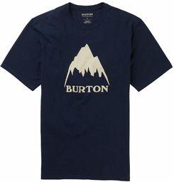 Burton Classic Mountain High T-shirt męski niebieski niebieski (Dress Blue) S