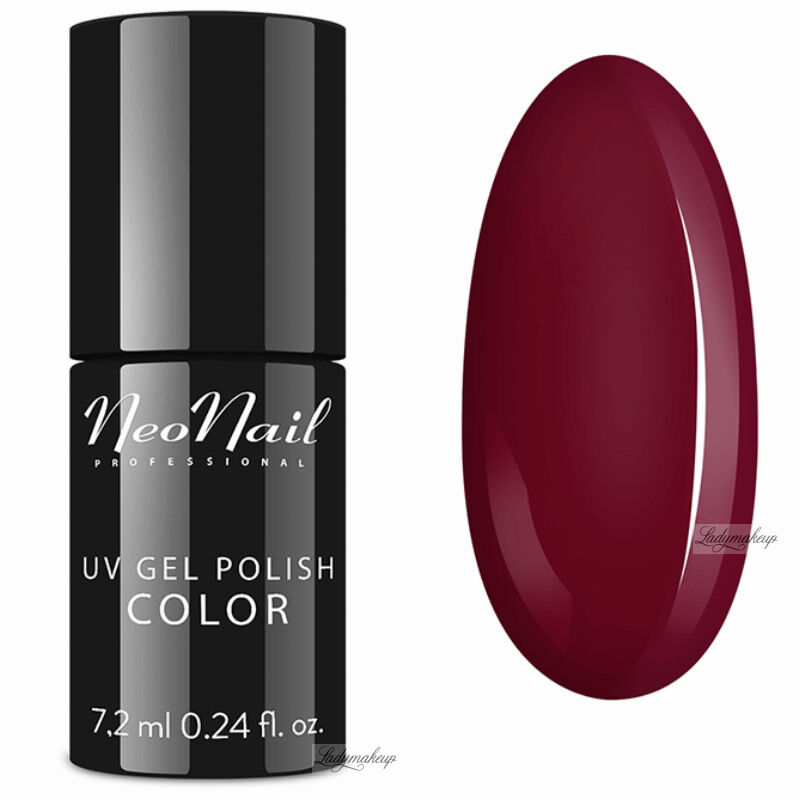 NeoNail - UV GEL POLISH COLOR - LADY IN RED - Lakier hybrydowy - 3790-7 RIPE CHERRY