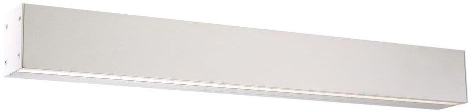 Kinkiet góra / dół IP S16 84531001 Nordlux podłużna oprawa ścienna w kolorze białym