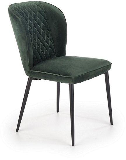 Krzesło K399 - ciemnozielone