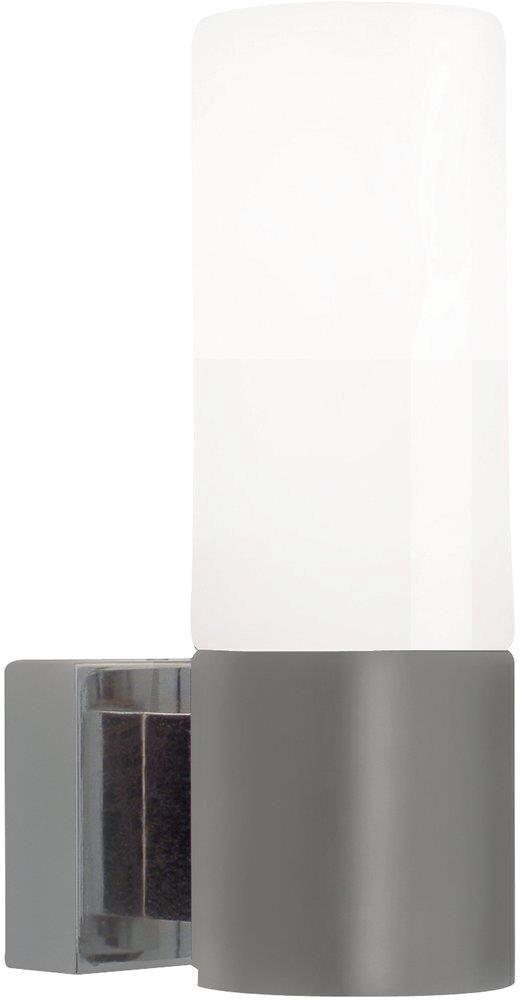 Kinkiet łazienkowy Tangens 17131032 Nordlux pojedyncza oprawa ścienna w kolorze stalowym