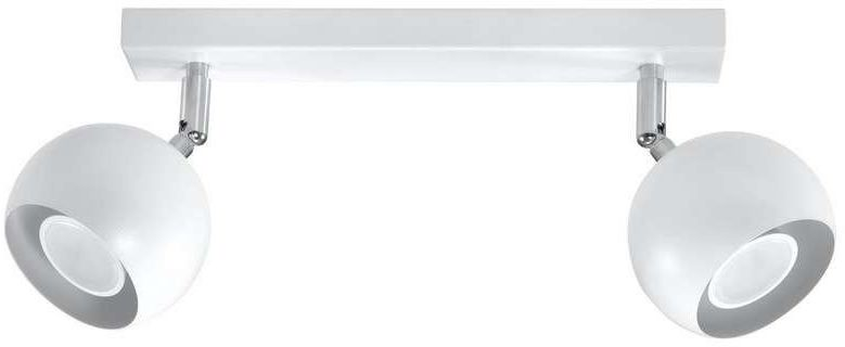 Sollux - plafon oculare 2 biały