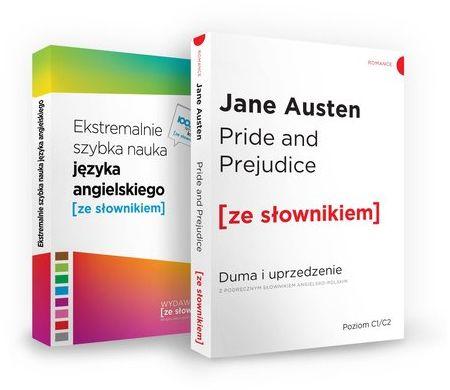 Pride and Prejudice / Ekstremalnie szybka nauka języka angielskiego ZAKŁADKA DO KSIĄŻEK GRATIS DO KAŻDEGO ZAMÓWIENIA