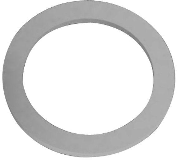 Gnali & Zani gumowy pierścień uszczelniający do ekspresu do kawy Brazylia/Morosina na 9 filiżanek, szary, 28 x 28 x 18 cm
