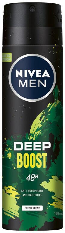 NIVEA MEN DEO Spray męski DEEP Boost 150 ml