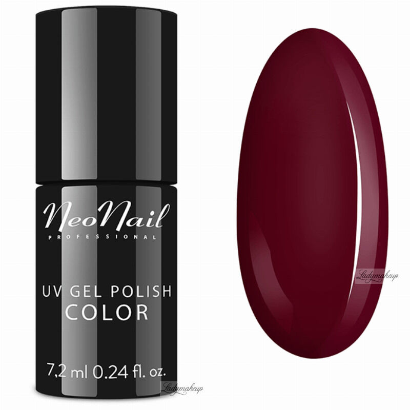 NeoNail - UV GEL POLISH COLOR - LADY IN RED - Lakier hybrydowy - 2617-7 WINE RED