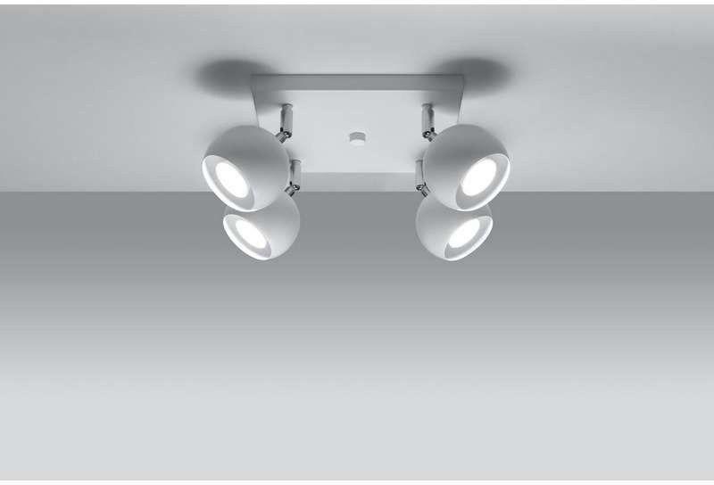 Sollux - plafon oculare 4 biały