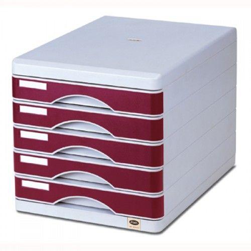 Pojemnik/Szafka z 5 szufladami metalowy na zamek GRAND GR-SM05 /120-1777/