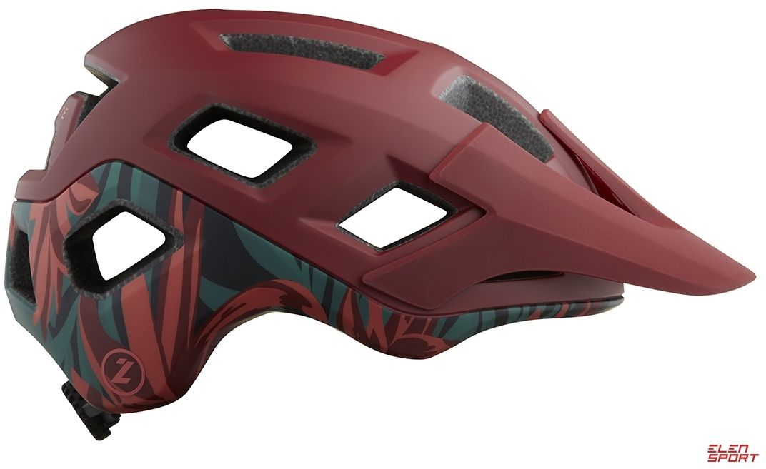 Kask rowerowy Mtb Lazer Coyote red rainforest