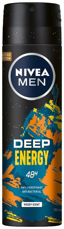 NIVEA MEN DEO Spray męski DEEP Energy 150 ml