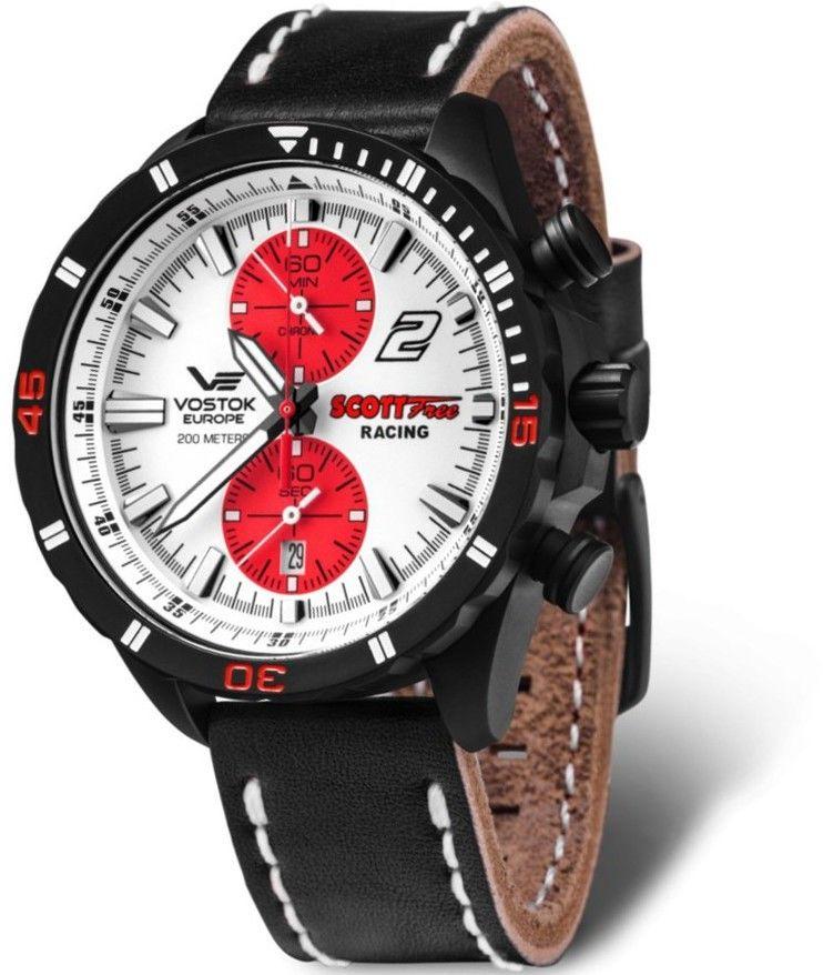 Zegarek Vostok Europe 6S11-320C374 Almaz Chrono Scott Free Racing Edition - CENA DO NEGOCJACJI - DOSTAWA DHL GRATIS, KUPUJ BEZ RYZYKA - 100 dni na zwrot, możliwość wygrawerowania dowolnego tekstu.