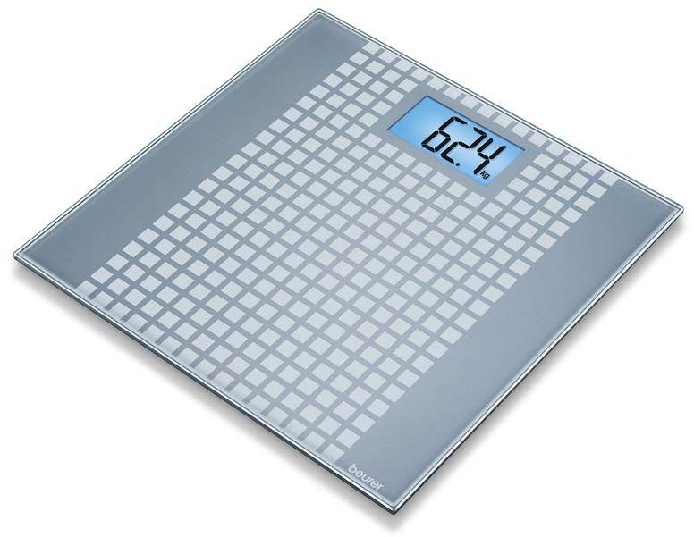 BEURER GS 206 Squares Waga szklana efekt mozaiki