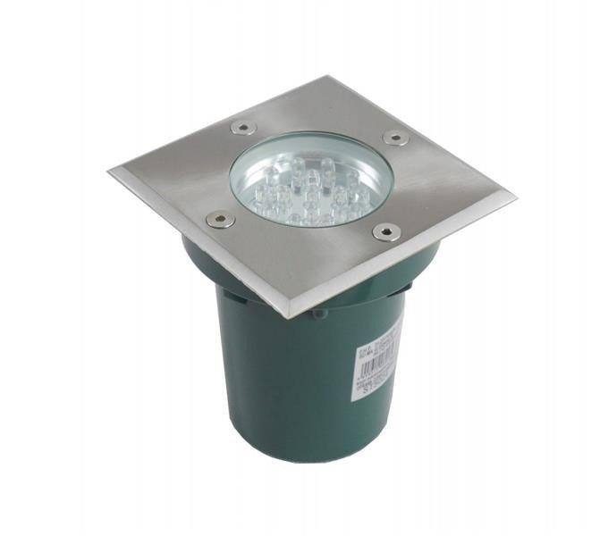 Lampa najazdowa do podświetlania budynków Leda ST 5024 B stalowy