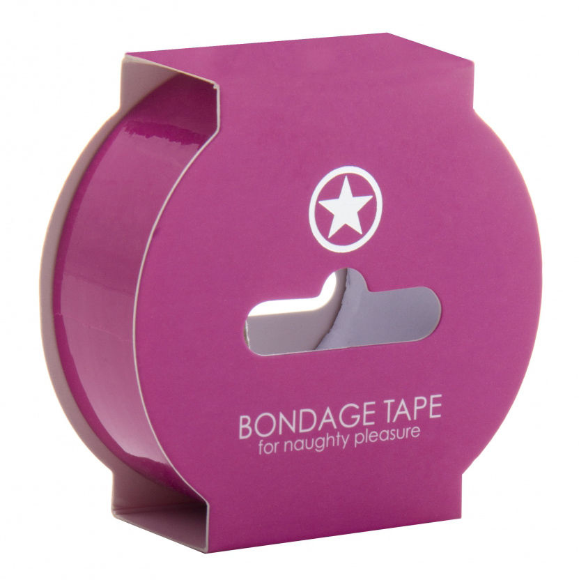 Ouch! Non Sticky Bondage Tape 17,5m Pink