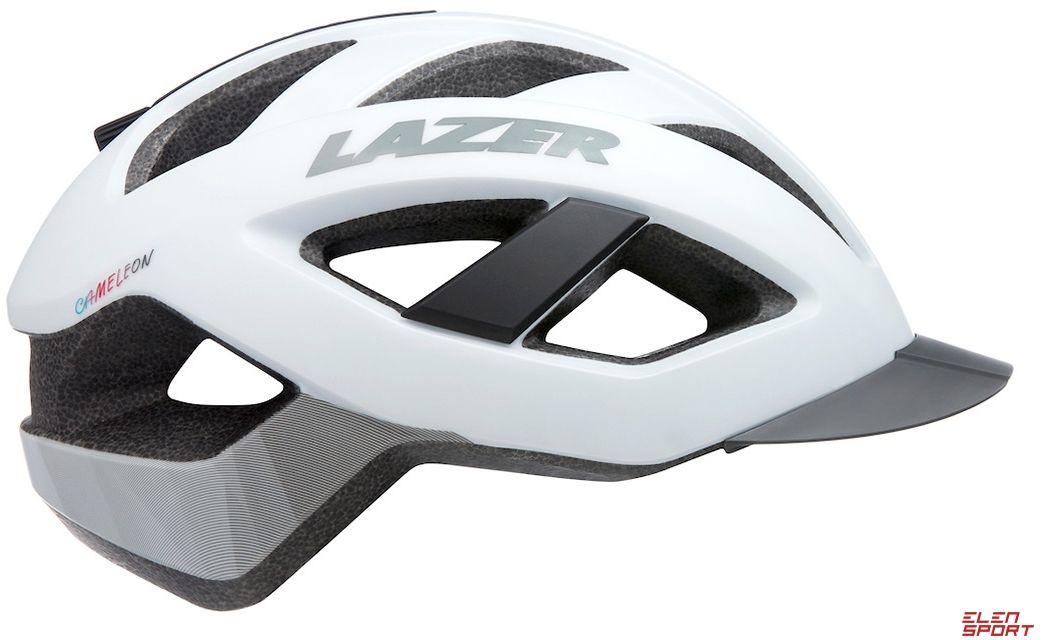 Kask rowerowy Lazer Cameleon biały