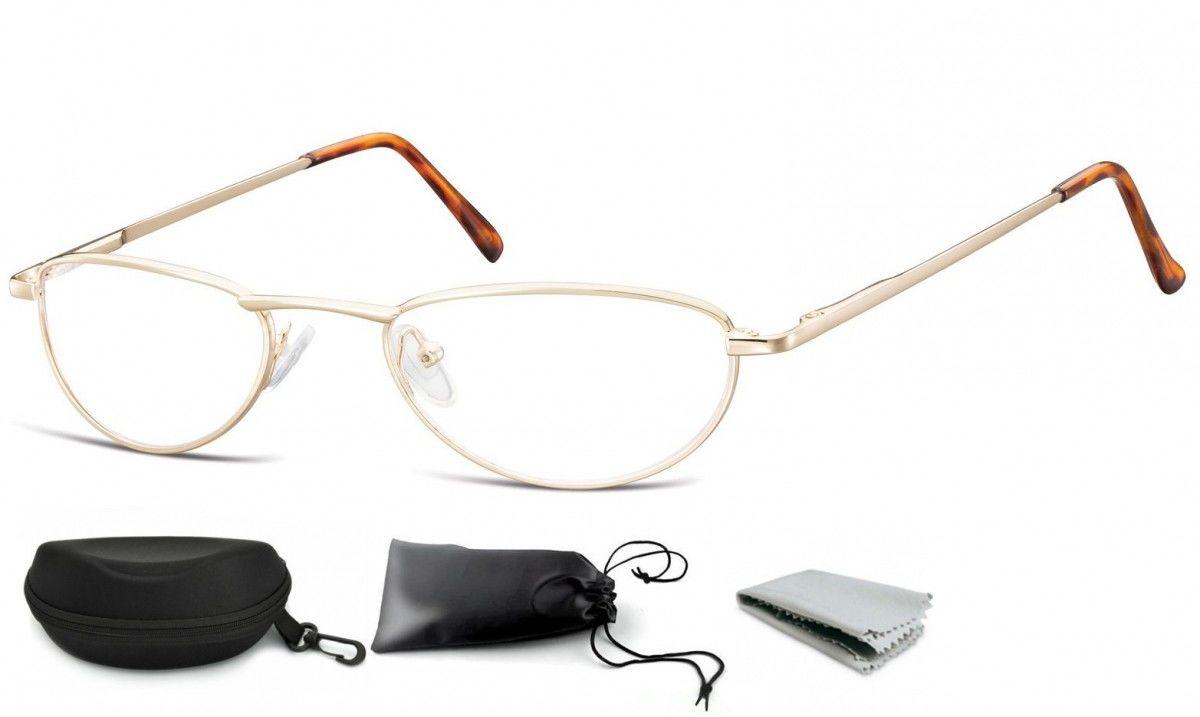 Okulary Oprawki Zerówki na korekcję Wąskie Szybkie Sunoptic 783