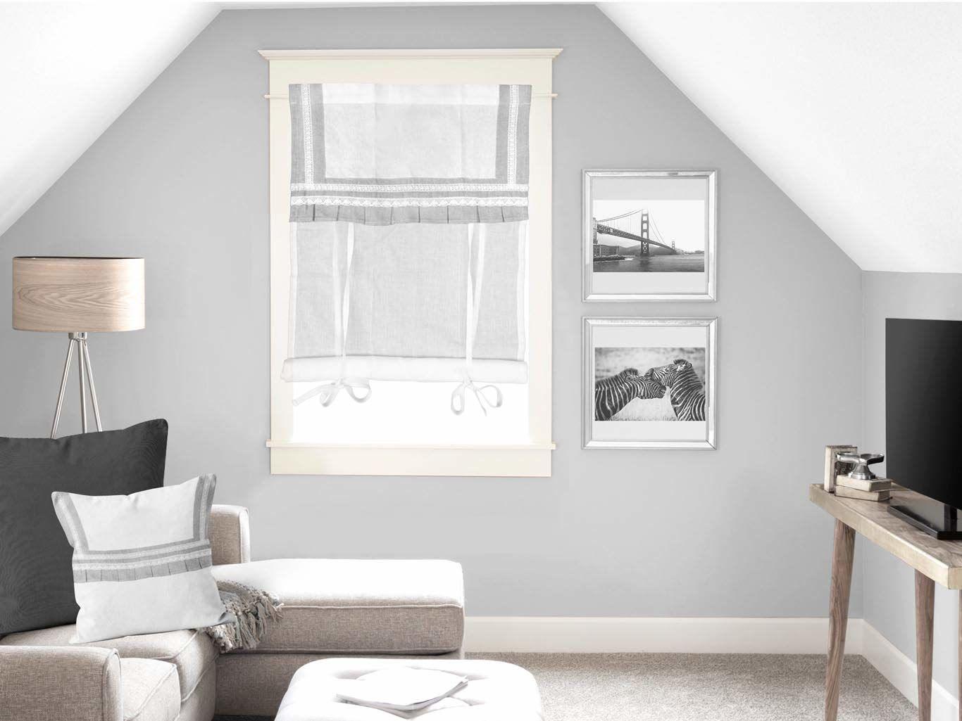 Soleil d''Ocre Forever zazdrostka, woal, bawełna, biała, 60 x 90 cm